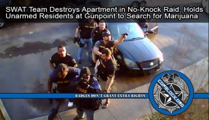 Tennessee SWAT Team Destroys Apartment during No-Knock Raid, Holds Unarmed Residents at Gunpoint to Search for Marijuana