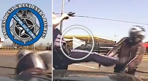 Oregon Drops Appeal, Will Pay $517,000 To Motorcyclist Kicked By Cop (Update)