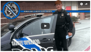 Bad Attitude Cop Called Out on Parking in Fire Lane for Personal Business