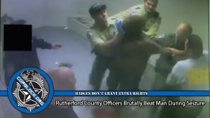 Rutherford County Officers Beat, Pepper Spray, and Tase Man Having a Seizure