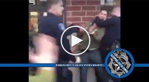 Rabid Gang Of Cops Tackle, Tase Man Outside Pub