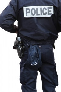 Police Officer Cop Block