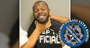 Man Smiles During Booking Photo So Jailers Choke Him