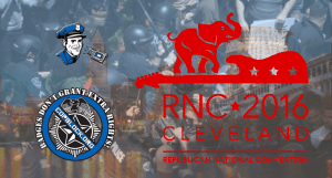 CopBlockers UPDATE from RNC 2016 w/Livesteams via Cell 411