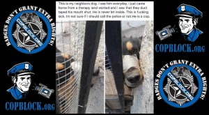 Photos Show Abuse of Dog by Las Vegas Corrections Officer Brian Emil
