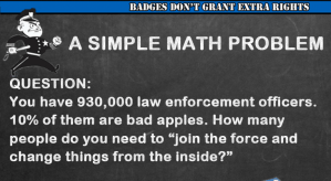 "2 Quick Facts About ""Sign Up and Change Law Enforcement From the Inside"""