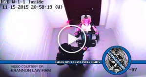 Video Shows Sgt. Pepper Spray Woman In Restraint Chair, Lawsuit Alleges Cover Up