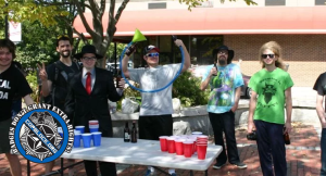 Activists Hold Beer Pong Protest Event – Cops Threaten Arrests, Then Back Down: VIDEO