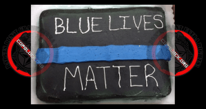 """Wal Mart Workers Refuse To Make """"Blue Lives Matter"""" Cake"""