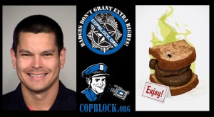 San Antonio Police Officer Matthew Luckhurst Fired for Trying to Feed Shit Sandwich to Homeless Man