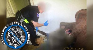 'Hideous' Photo Shows Cop Posing With Dead Overdose Victim Giving Thumbs Up