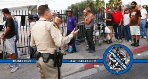 Days Before Christmas, the LVMPD Conducted Raids on Homeless People Stealing Blankets and Winter Shelter