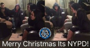 NYPD Officer Who Posted Snapchat Photo of Family Handcuffed in Christmas Day Raid Suspended