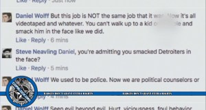 Detroit Cop Complains In Racist Facebook Rant That Cameras Prevent Police From Abusing Citizens