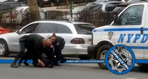 Video Shows Three NYPD Officers Hitting Man in the Face After He's Pinned on the Ground