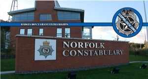 Norfolk England Constabulary Police Community Support Officers Threaten To Have UK CopBlocker Arrested