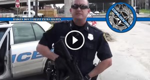 "With People Like This On Your Side…Houston Cop Claims to be ""Three Percenter"" While Illegally Detaining Man Open Carrying Rifle"