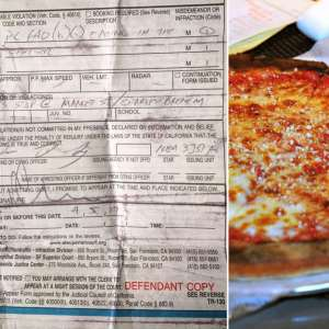 Homeless Man Ticketed for Eating Pizza Slice at Bus Stop