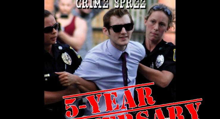 Victimless Crime Spree Screening Poster