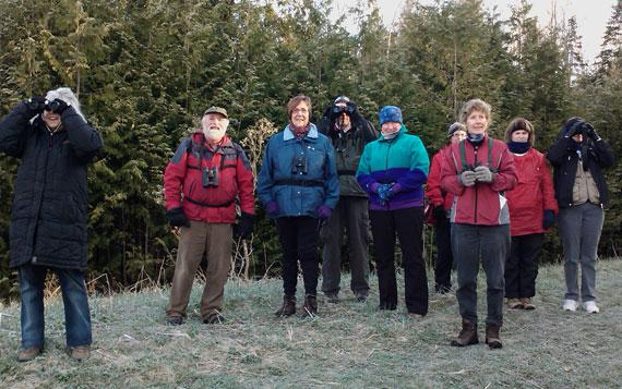 Bird Watchers in Copeland