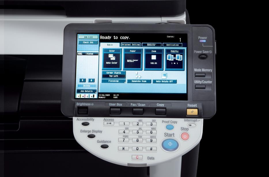 Konica Minolta Bizhub C360 Colour Copier/Printer/Scanner