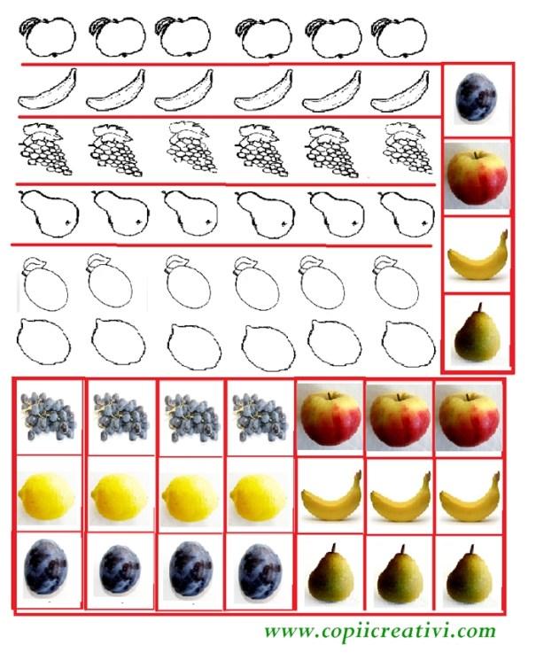 fructe pentru decupat