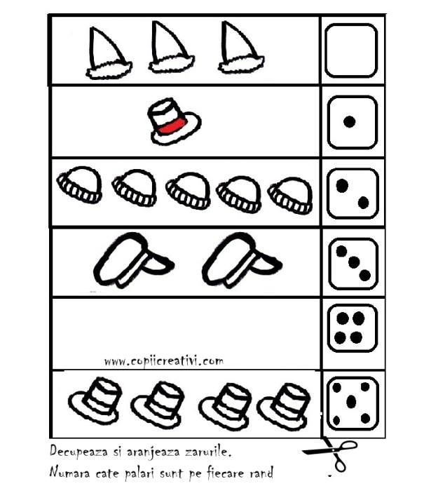 tabel cu palari si zaruri