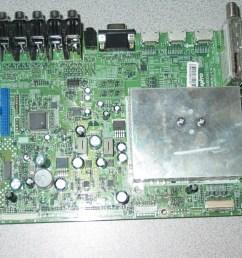 schematic diagram dp42849 sanyo tv wiring diagram used sanyo dp42849 p42849 00 main board n7ae 1aa4b10n22900 [ 1024 x 768 Pixel ]