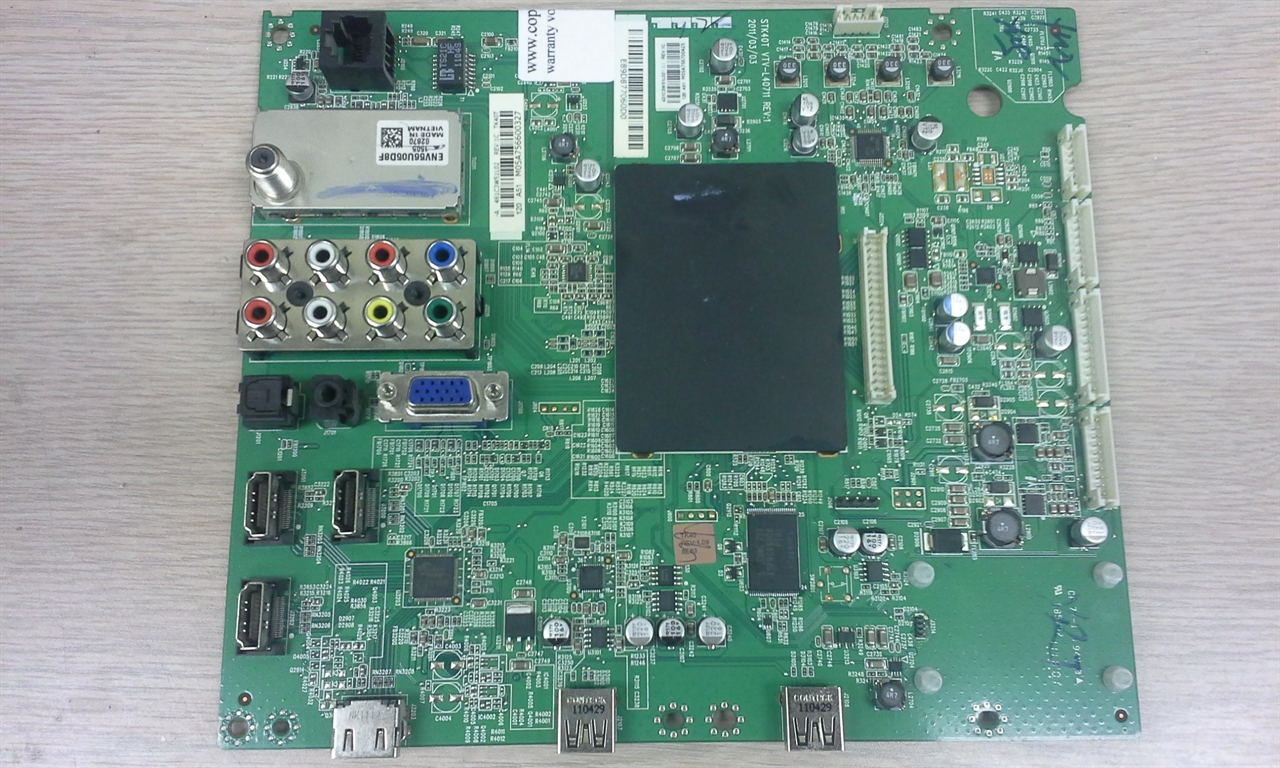 hight resolution of repair service for toshiba 40s51u main board 75025138 stk40t vtv l40711 461c3w51l02 431c3w51l02