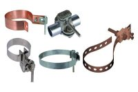 Brass Pipe Clamps | Earth Clamps | Pipe Bond Clamp | Water ...