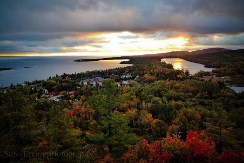 Michigan Fall Wallpaper Breathtaking Fall Colors Copper Harbor Copper Harbor
