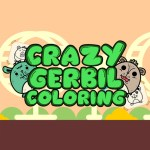 Crazy Gerbil Coloring