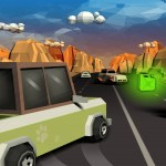 Furious Road Game : Low poly Car Racing