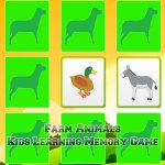 Kids Learning Farm Animals Memory
