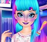 Elsa Galaxy Makeup