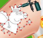 Peppa Pig Tattoo Studio