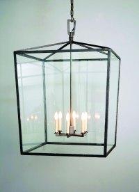 Square Box Cage Lantern - Model No. H1340H | Copper ...