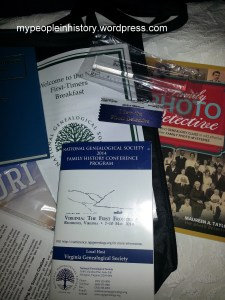 Some goodies from the conference!