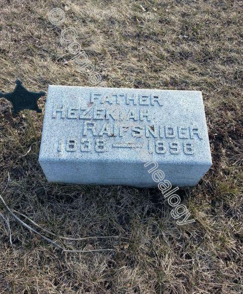 004 Hezekiah Grave