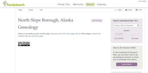 A borough of Alaska