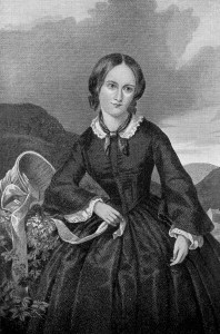 Charlotte Bronte - author of a favorite book, Jane Eyre - [Public domain], via Wikimedia Commons