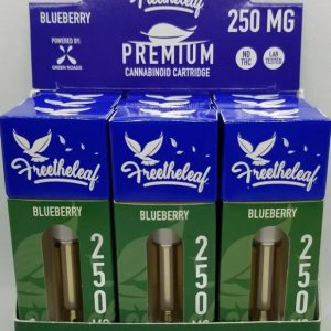 freetheleaf 250mg blueberry
