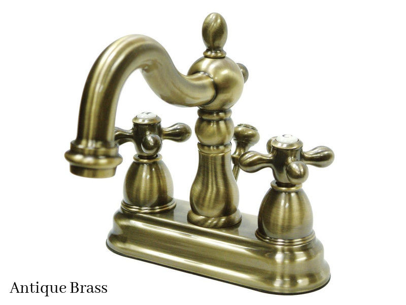 kingston brass 4 heritage centerset bath faucet