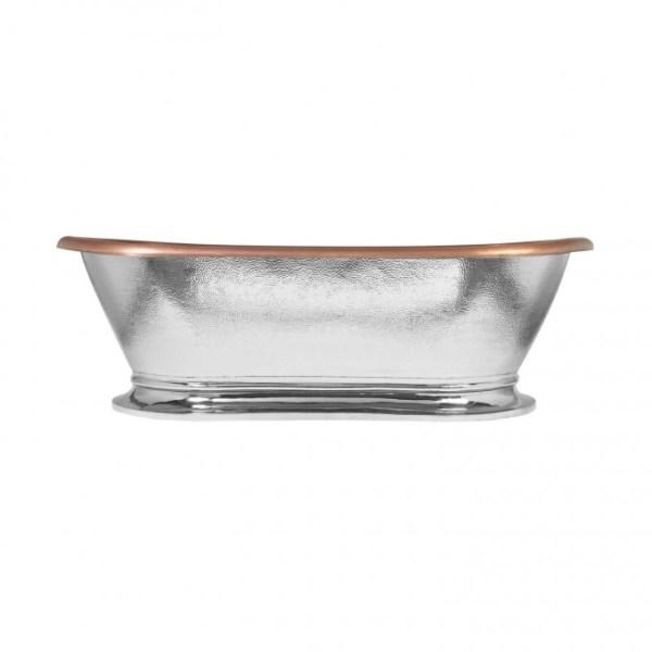 Copper Tub Nickel Exterior - Coppersmith Creations