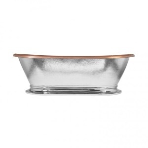Copper Tub Nickel Exterior - Coppersmith Creations