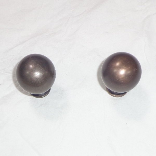 Brass Cabinet Knobs Antique Finish - Coppersmith Creations