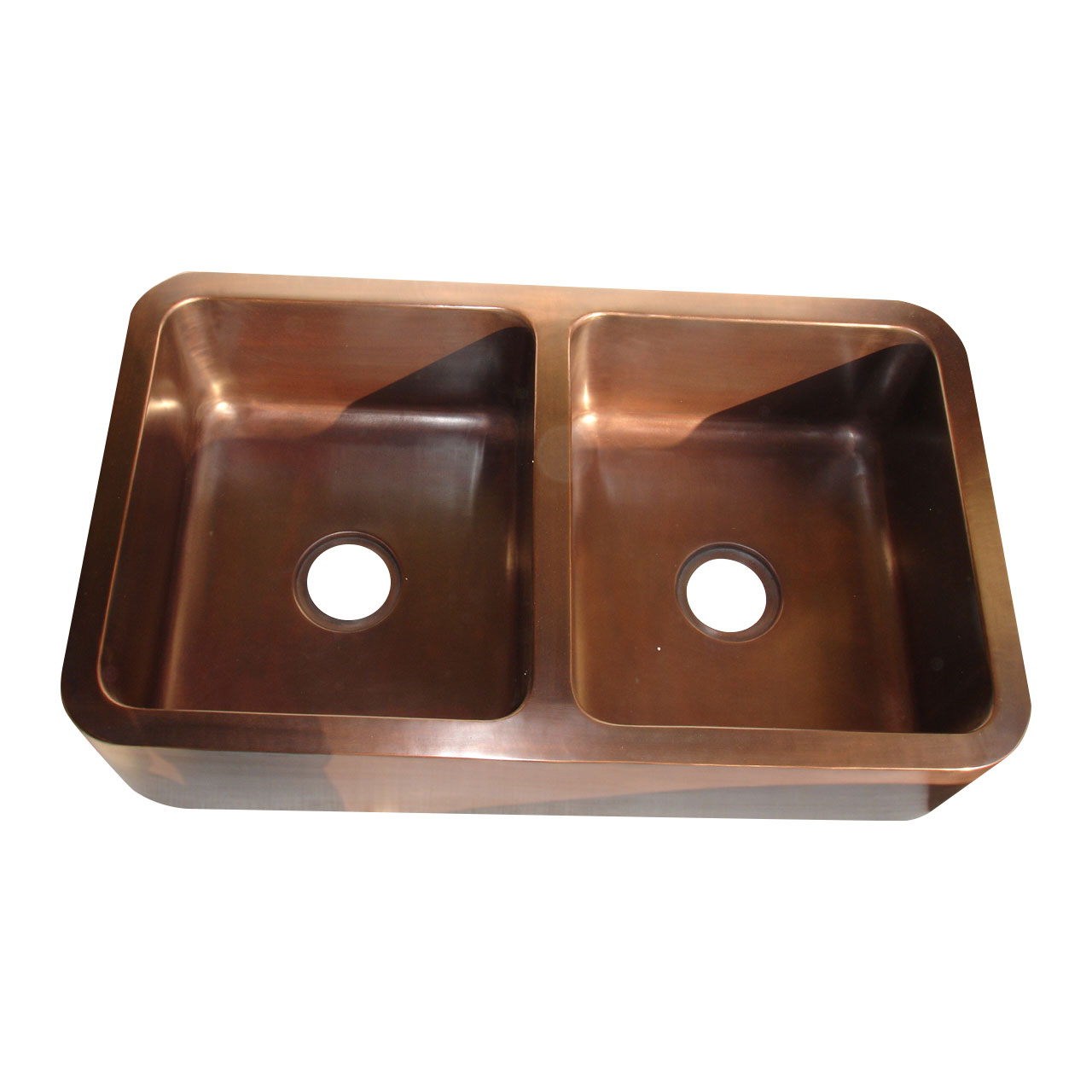 extra large kitchen sinks double bowl sink for rectangular copper coppersmith