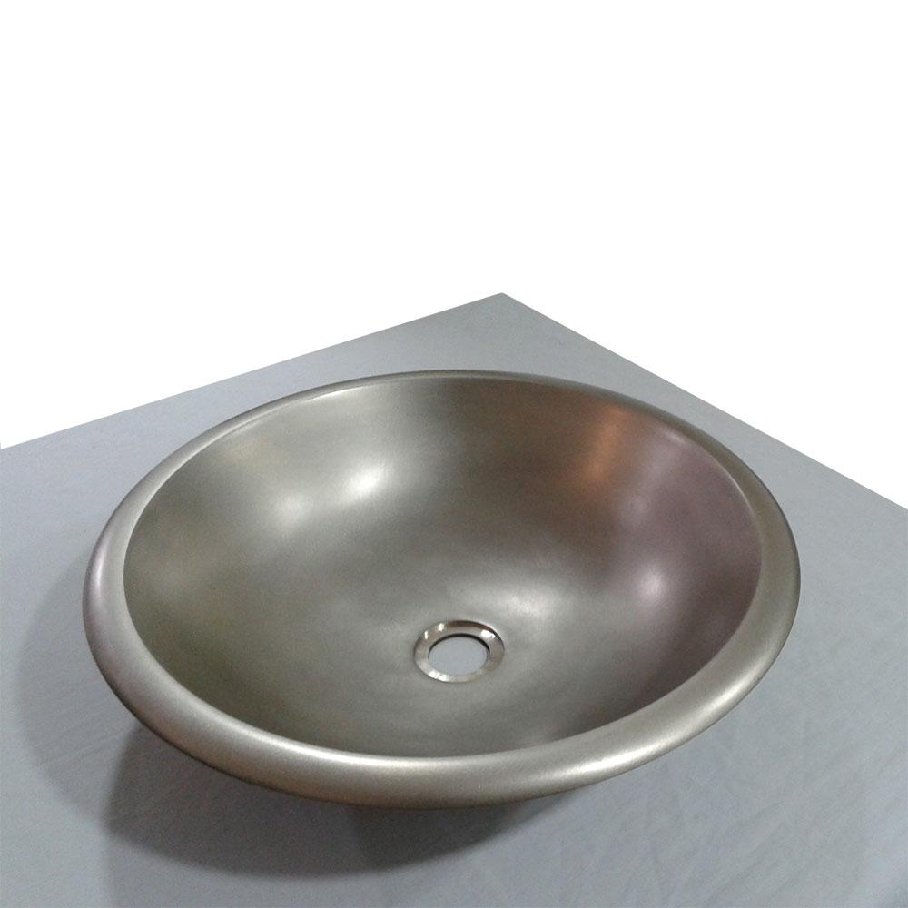 Cast Bronze Sink Agota  Bathroom Sink  Coppersmith