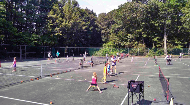 Kids day at the Filipek tennis tournament at Copper Valley Club