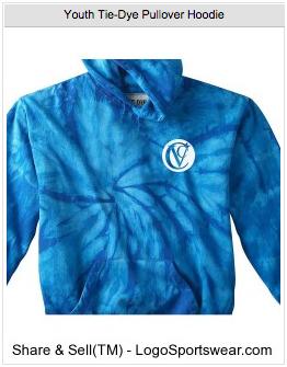 Youth Tie-Dye Pullover Hoodie